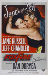 Foxfire 1955 DVD - Jane Russell / Jeff Chandler